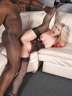 Interracial Sex In Nylons