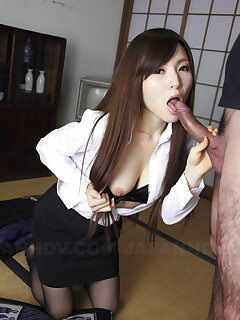 Stunning Japanese In Stocking Fucked