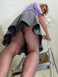 Stocking Upskirt