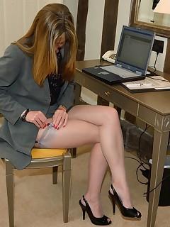 Nylon Stockings Strip