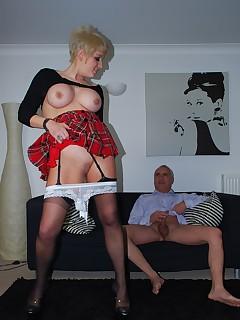 Sexiest Short Skirt Babes
