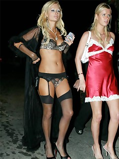 Hottest Celebrities Posing In Lingerie And Stockings