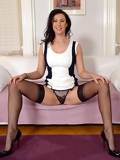 British Milf Lara Stockings
