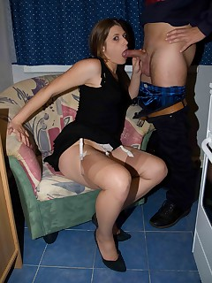 Amateur Homemade Sex In Stockings