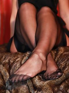 Nylon Stocking Feet